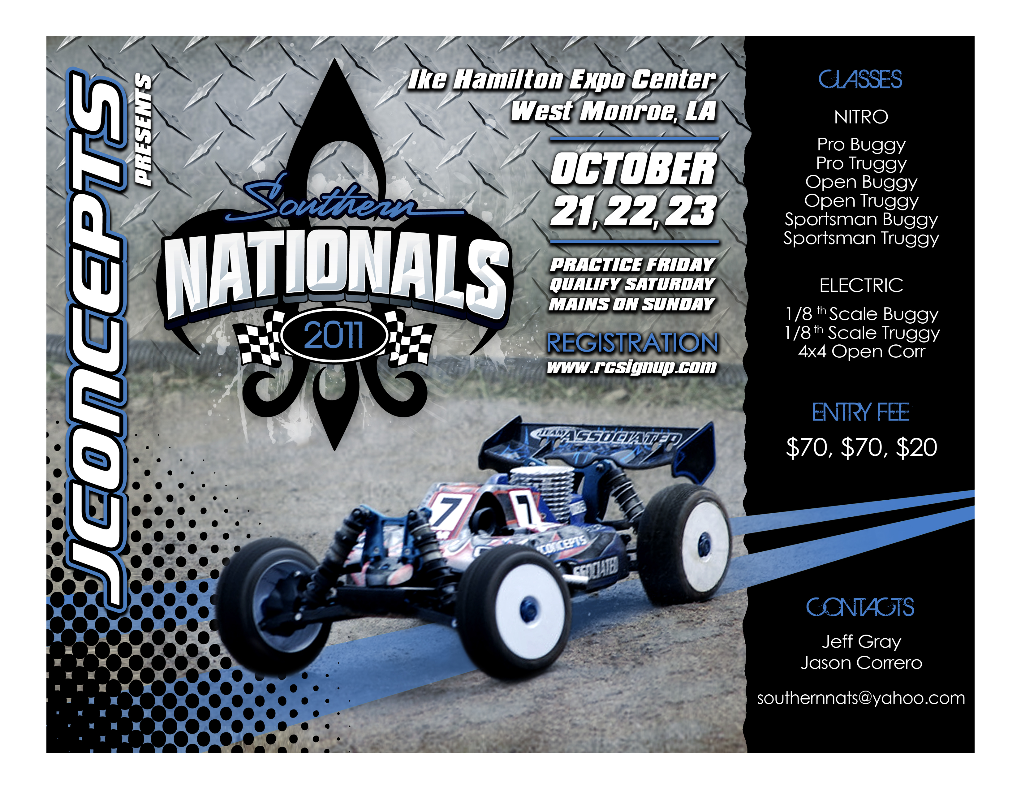 The 2011 Southern Nationals Is Fast Approaching – JConcepts Blog