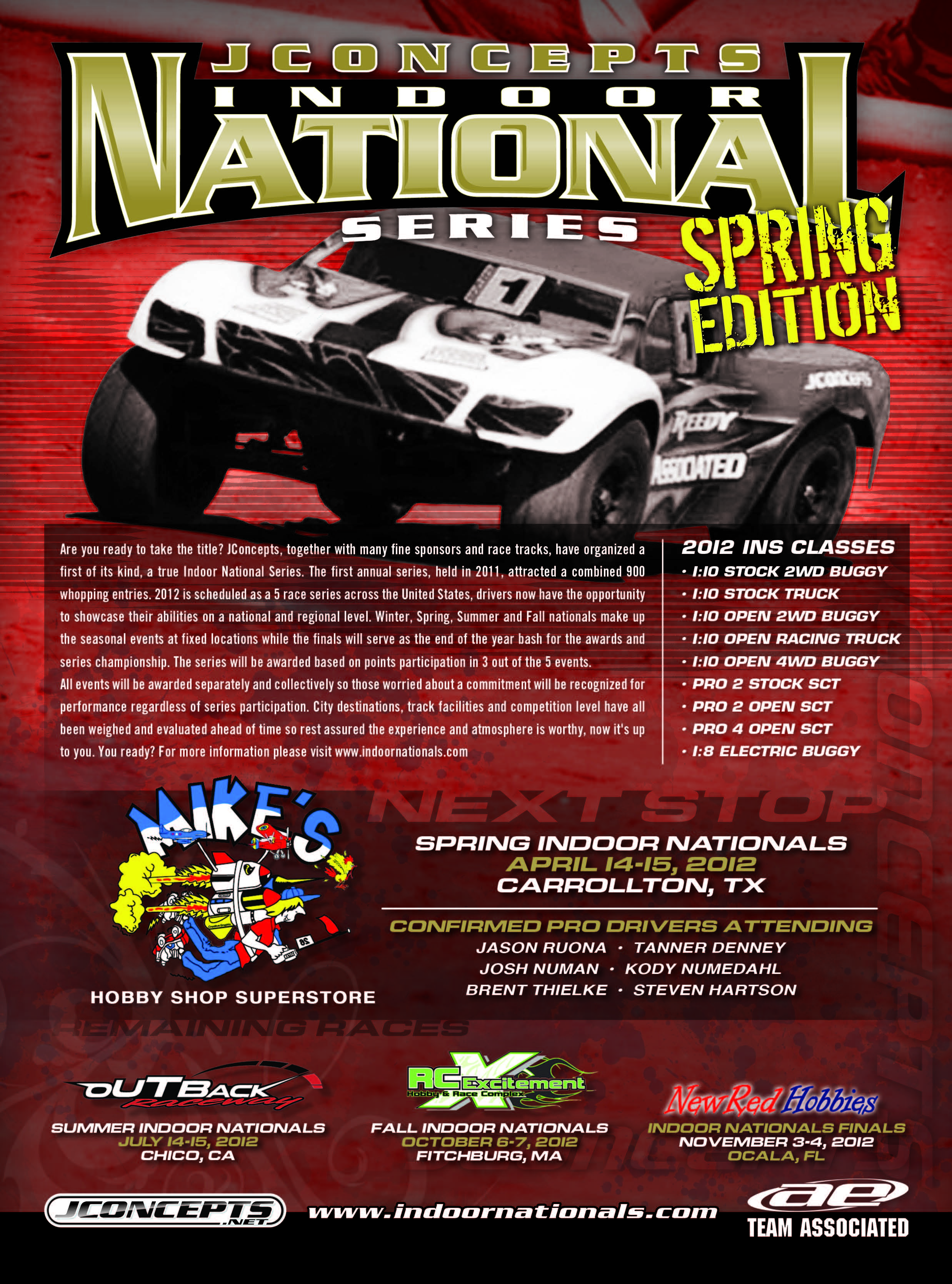 2012 INS Spring Race Flyer