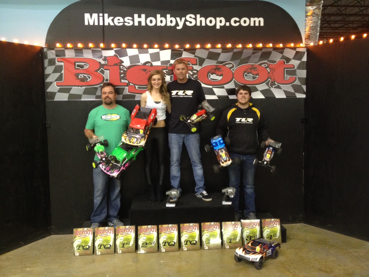 JConcepts drivers - podium