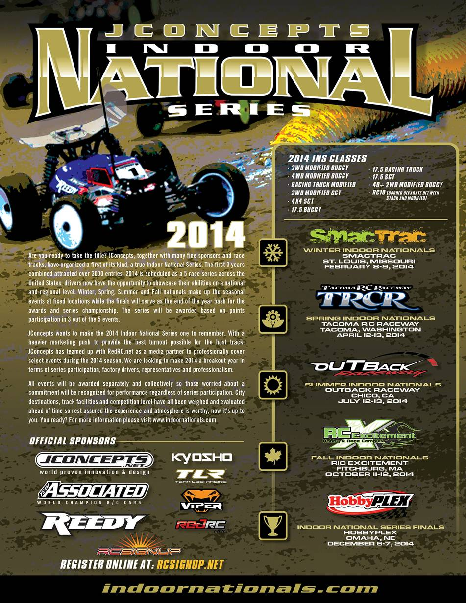 2014 JConcepts Indoor National Series