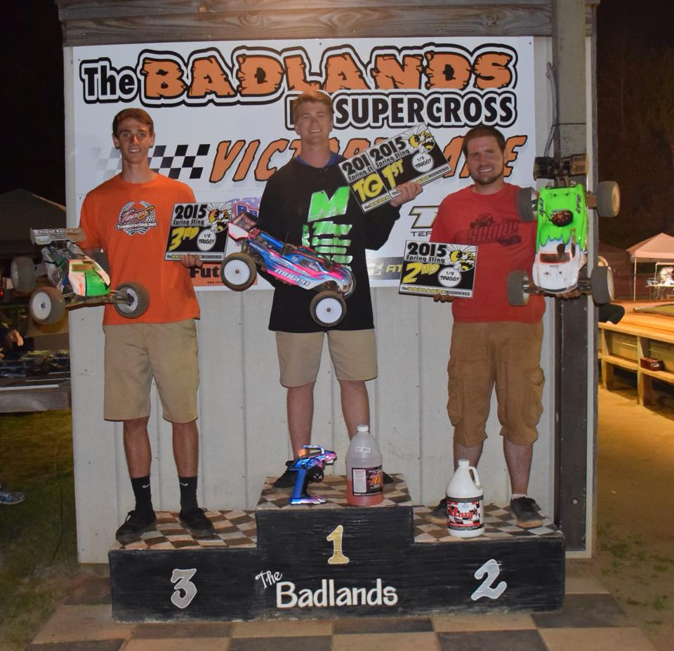 2015 Spring Sting Truggy Podium