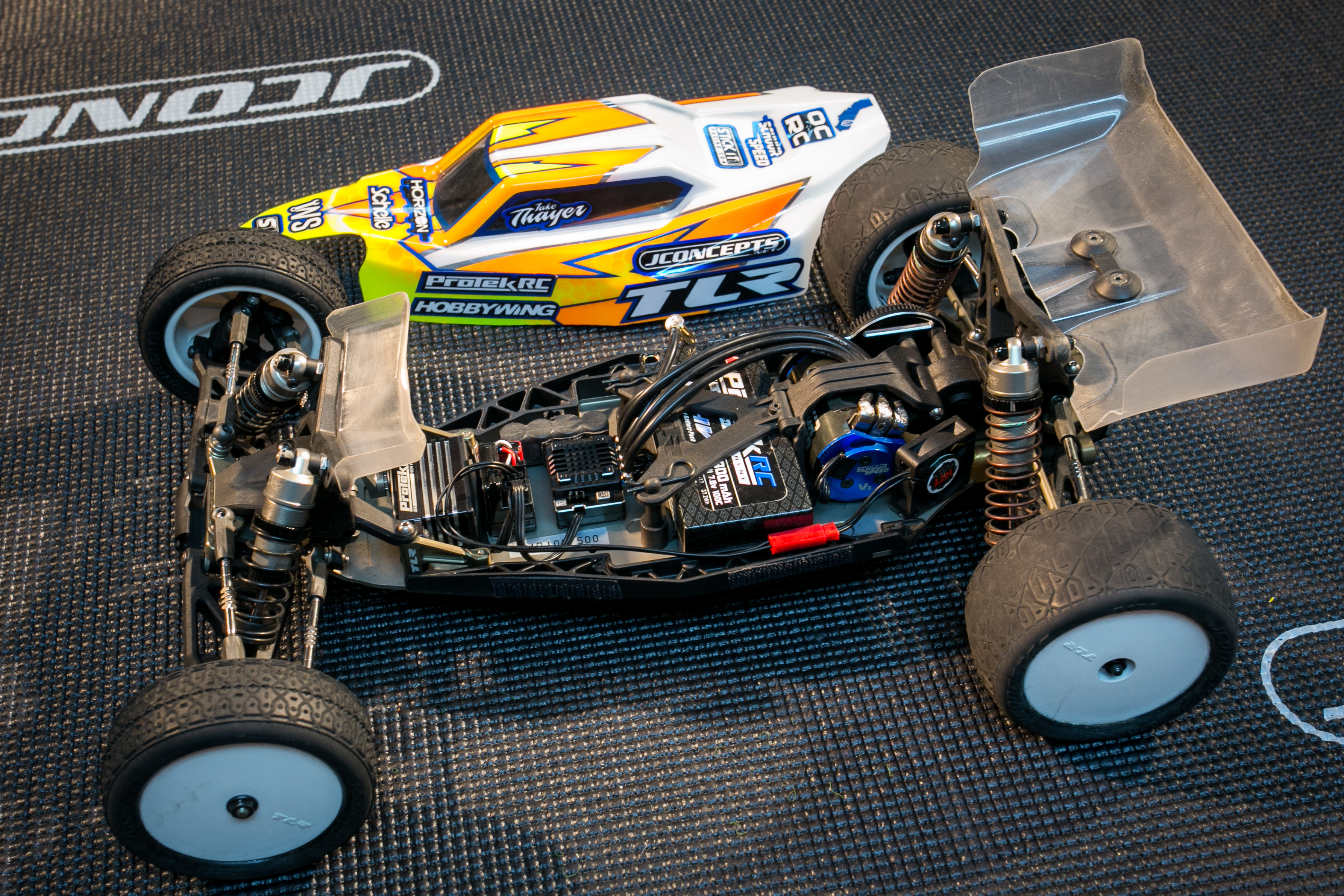 Jackie Thayer's Stock Nationals Winning TLR 22 4.0