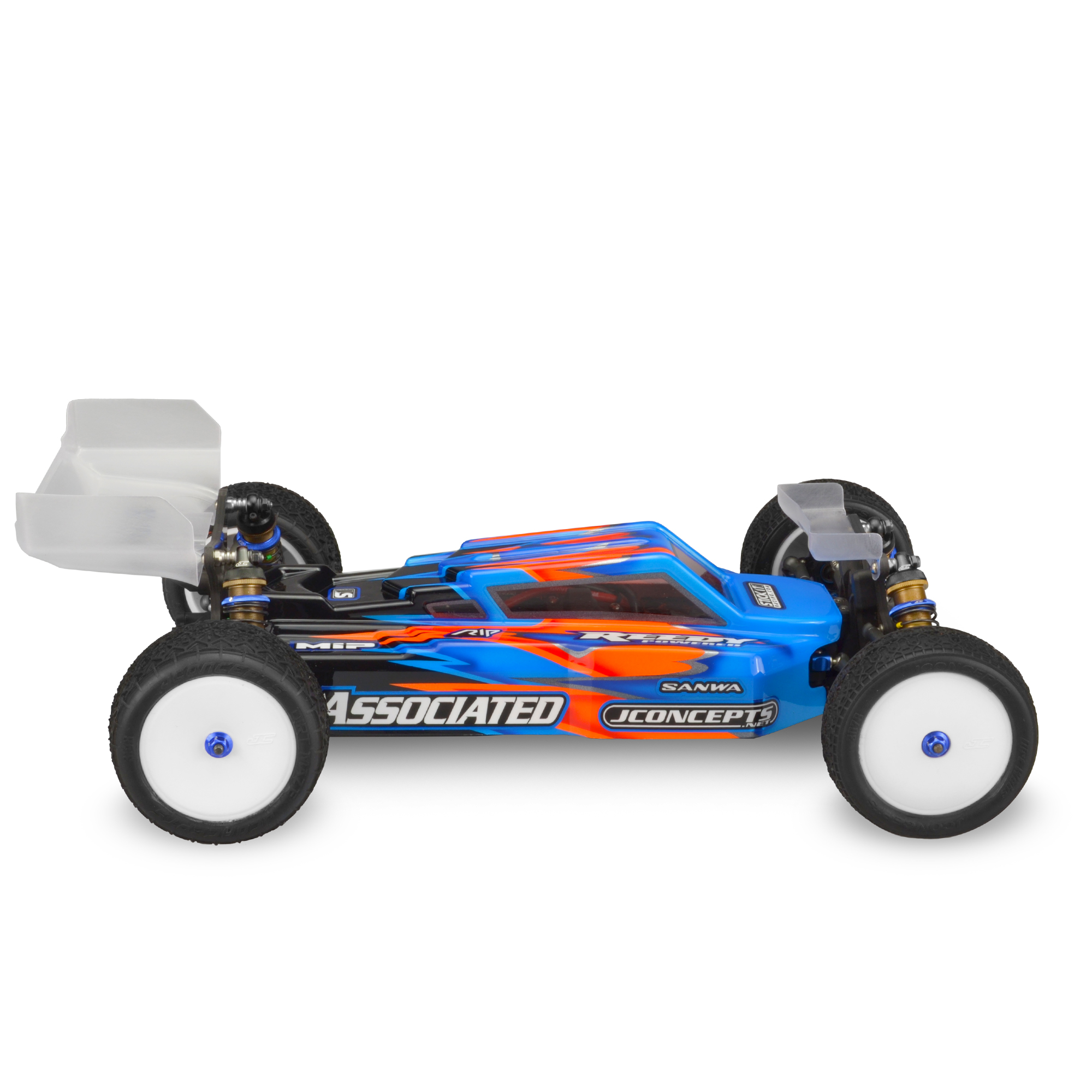 aggressive look with included details which remain crucial to performance The F2 body is a drop fit for the popular Team Associated B64