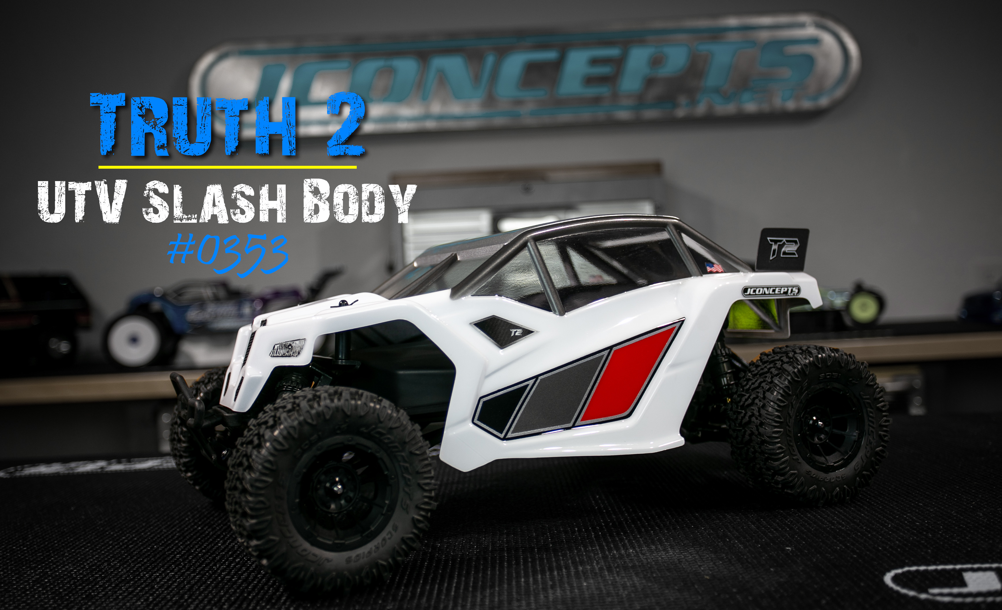 Inside Look to Fred Reep's Custom Slash 2wd UTV Build | JConcepts