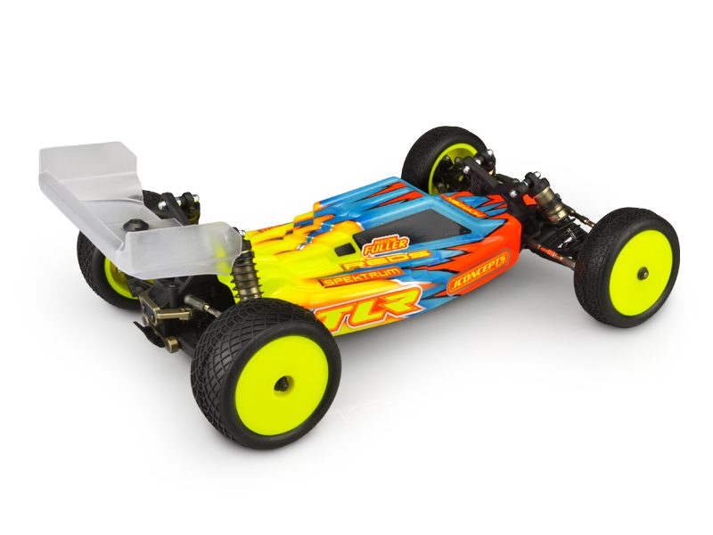 JCONCEPTS F2 TLR 22X4 S TYPE REAR WINGS #0414