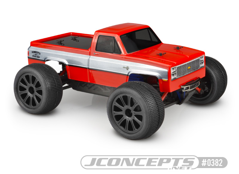 "fits 12.3/"" Wheelbase J Concepts 1982 GMC K10 Body"